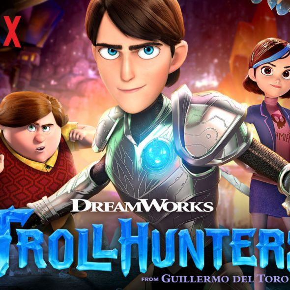 Trollhunters, Guillermo Del Toro, Netflix